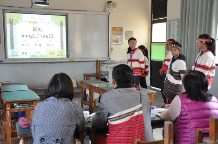 原住民族語單詞競賽新竹區初賽 300餘人展現族語實力 共5張圖片