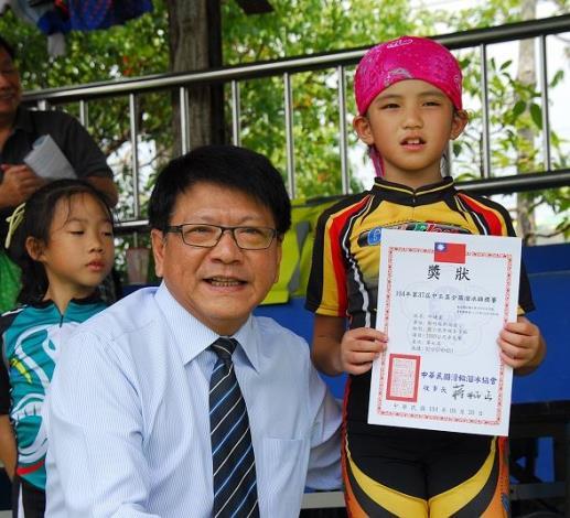 104學年度第37屆中正盃全國溜冰錦標賽 新竹縣勇奪佳績
