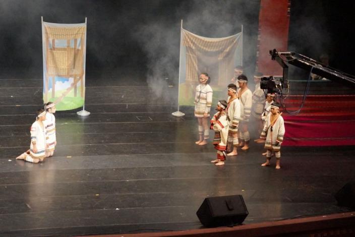 來自彩虹的回憶 尖石新樂國小榮獲全國原住民戲劇競賽第四名佳績