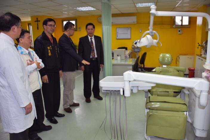 桃竹苗第一個老人養護中心「牙科診療室」於竹東長安老人安養中心啟用 共5張圖片