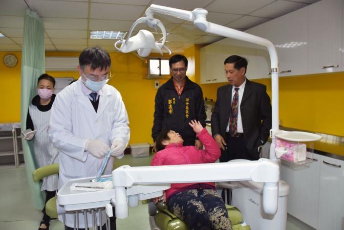 桃竹苗第一個老人養護中心「牙科診療室」於竹東長安老人安養中心啟用