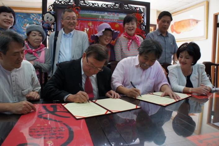 打造一線九驛的國際知名度 新竹縣與日本有馬溫泉玩具博物館簽合作備忘錄