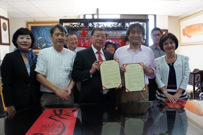 打造一線九驛的國際知名度 新竹縣與日本有馬溫泉玩具博物館簽合作備忘錄  共3張圖片