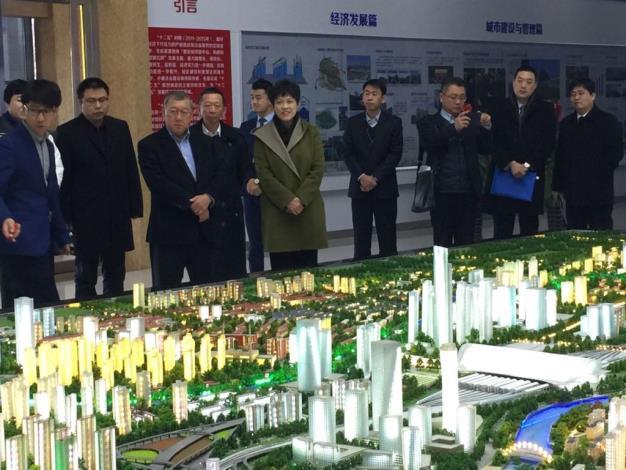 邱縣長赴天津參訪紅橋區 促兩岸科技創新交流