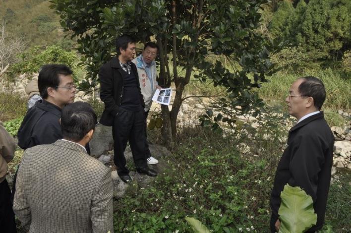 會勘尖石鄉新樂村護岸工程 將向中央爭取重建經費 共39張圖片