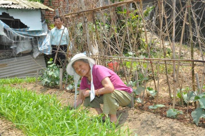 張溫禮妹當年赤貧童養媳 教養9子成家立業獲選模範母親 共4張圖片