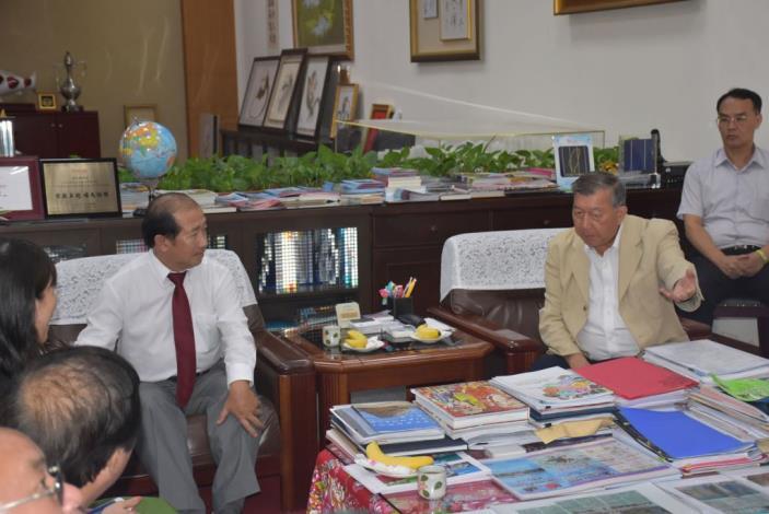 越南同塔省副主席段進寶拜會邱縣長籌辦新南向-境外專班 共4張圖片