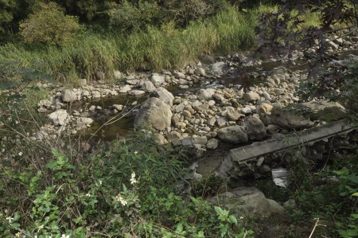 尖石鄉新樂村野溪護岸改善  獲水保局經費補助