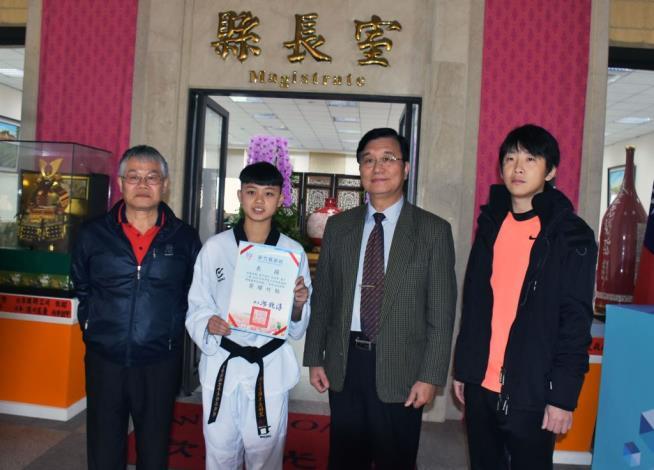 相隔20年再出青少年跆拳國手!湖口高中吳雨絜4月出征2018世界青少年跆拳道錦標賽