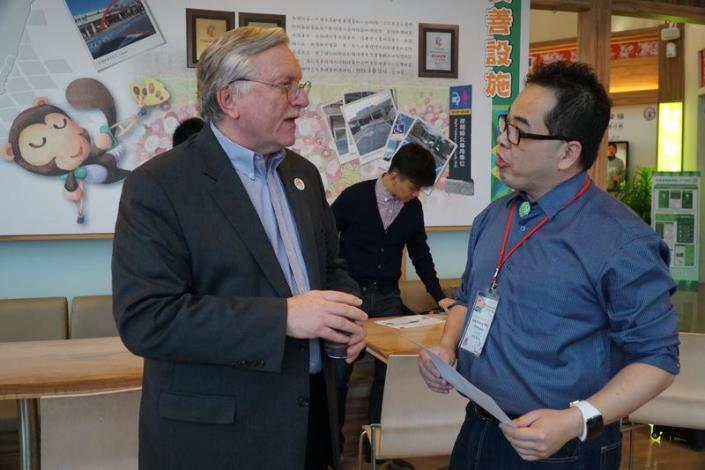 ICF主席兼聯合創辦人John Jung實地參訪新竹縣智慧城市發展成果 共43張圖片