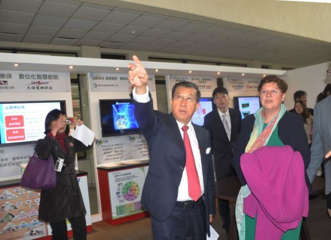 國際智慧城市TOP 7吸睛 比利時眾議院三位國會議員參訪新竹縣政府