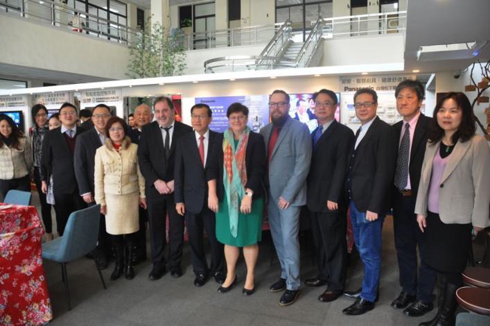 國際智慧城市TOP 7吸睛 比利時眾議院三位國會議員參訪新竹縣政府 共10張圖片