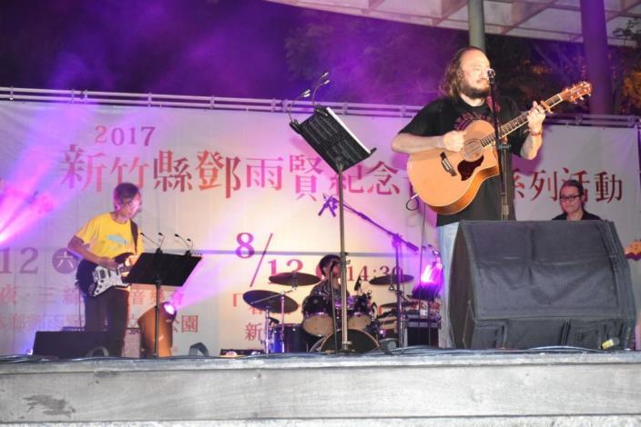 鄧雨賢紀念音樂會 家族後輩子孫齊聚獻唱十八姑娘 共16張圖片