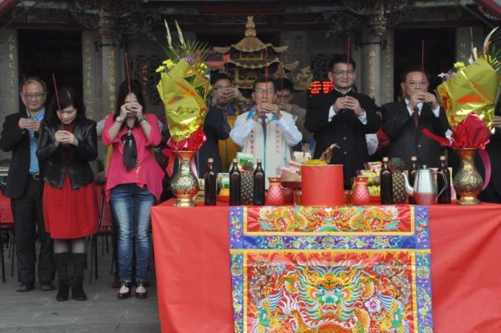 邁向客家文化傳承中心 新埔義民廟周邊環境景觀改造工程開工