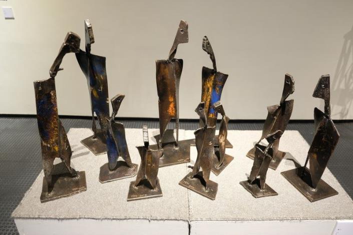 老鐵化腐朽為神奇-無盡藏-葉步雲鐵雕創作展 共3張圖片