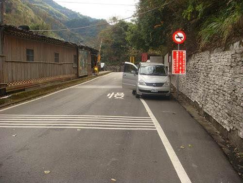司馬庫斯道路狹窄不利會車 管制公告後3月9日開始執法