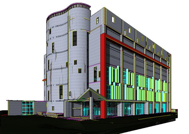 竹北國民運動中心工程順利發包 預計107年2月初完工