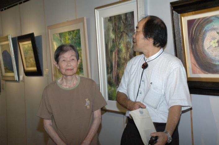 紀念蕭如松老師90歲冥誕 「追憶-松風畫會101展」開跑 共18張圖片