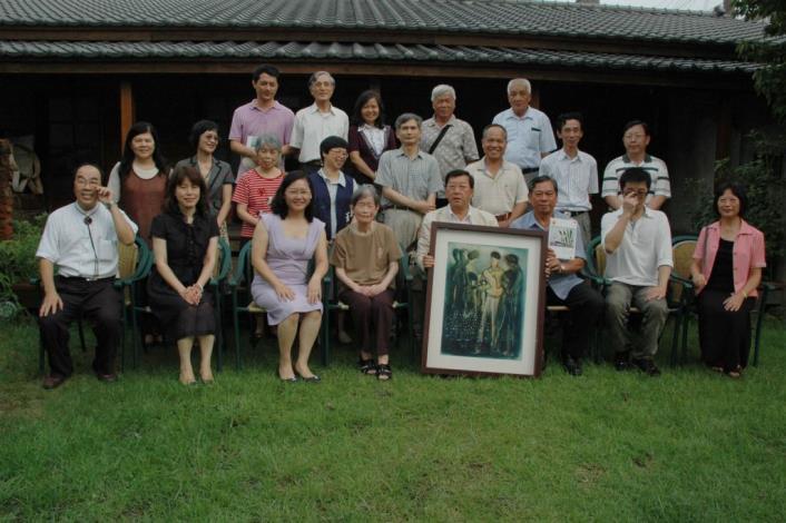 紀念蕭如松老師90歲冥誕 「追憶-松風畫會101展」開跑