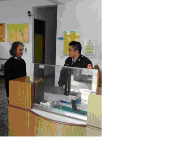 新埔分局南華派出所自105年元旦起 派員駐點為民服務