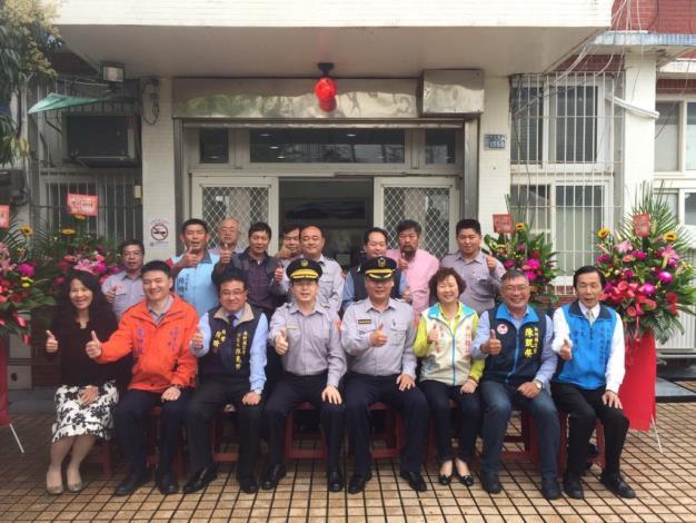 竹北分局豐田派出所舉行新任所長布達儀式