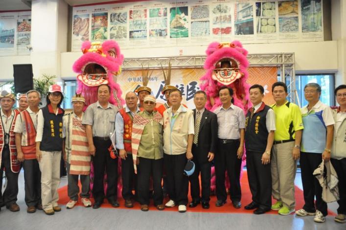 全國原住民族運動會106年在新竹縣舉行 籌備處成立揭牌 共13張圖片