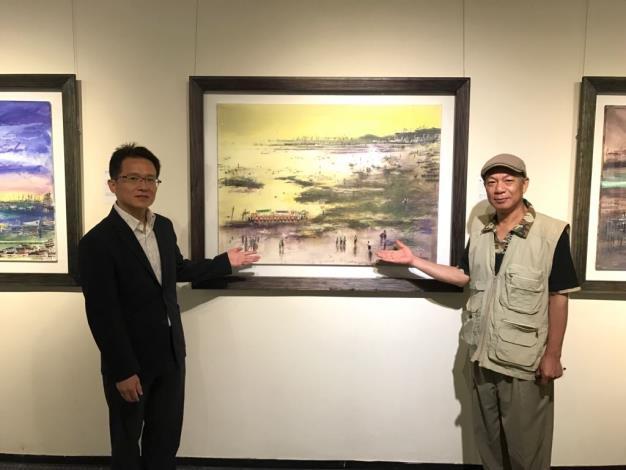 環保藝術家黃運祥 厚工水彩臺灣風貌展