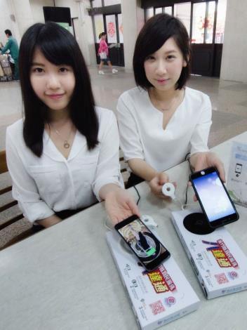 新竹縣公務臨櫃52處提供手機無線充電便民又環保 共5張圖片