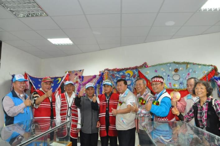 取得使用執照 五峰鄉賽夏族文物館正式啟用 共12張圖片