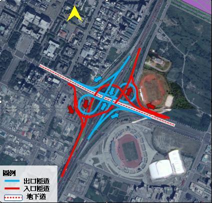 竹北交流道改善計畫近31億元 高公局審議同意申請辦理