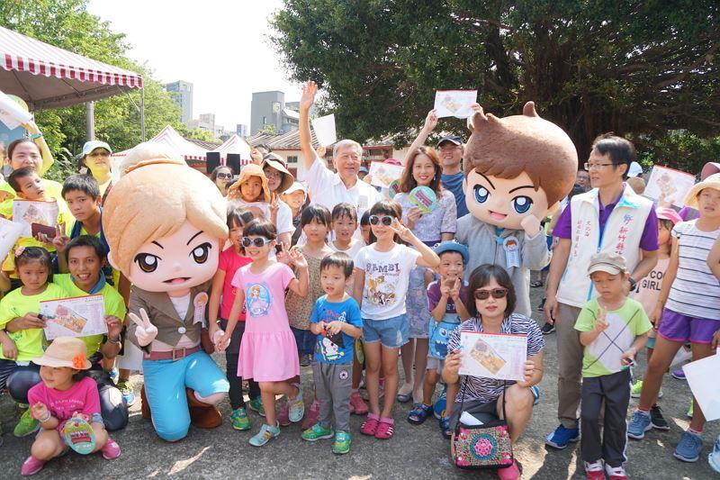 「跟著古蹟趣旅行」定向越野、卡通明星跑跳民俗公園
