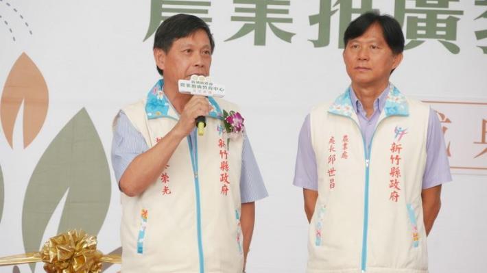 新埔鎮農會農業推廣教育中心今落成 共3張圖片