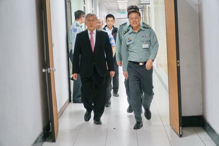 新竹縣「戰綜會報」考核拿第一 參謀總長李喜明上將讚:全國典範 共9張圖片