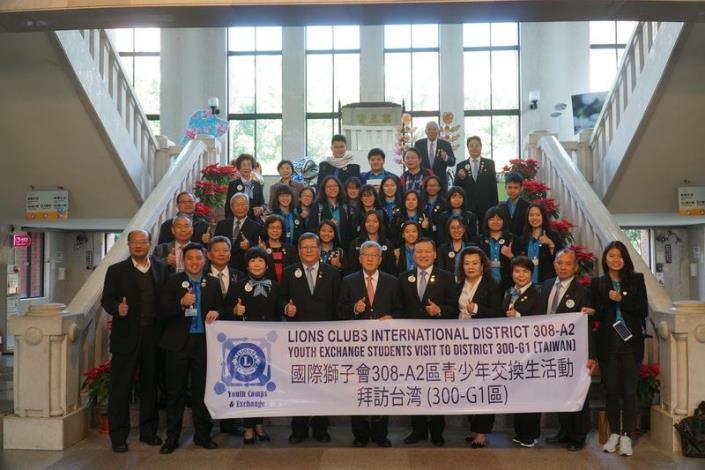 多看多聽多了解 馬來西亞308-A2區交換學生參訪 共4張圖片
