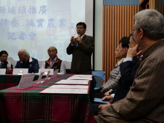 簽署「友善耕養誠實農業」策略聯盟 打造新埔友善農業發展願景 共8張圖片