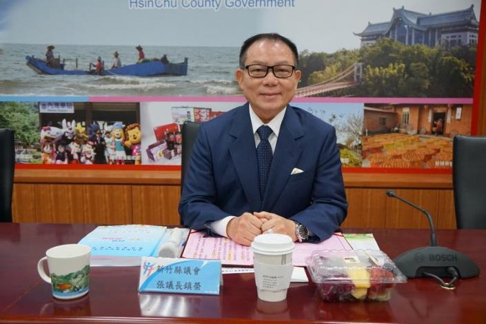 新竹縣議會第19屆議員縣政考察 楊縣長宣布「三支箭」打造竹縣30年榮景 共26張圖片