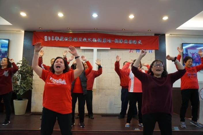 新竹縣竹東鎮五尖文化健康站揭牌 共2張圖片