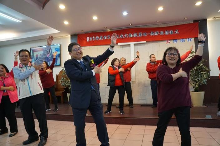 新竹縣竹東鎮五尖文化健康站揭牌