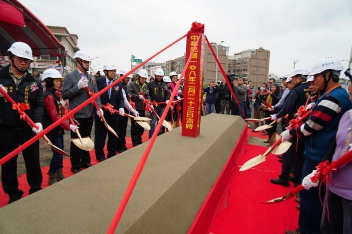 湖口鄉王爺壟運動公園興建工程 歡喜動土 共9張圖片