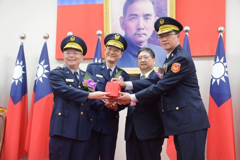 新竹縣政府警察局卸、新任局長交接