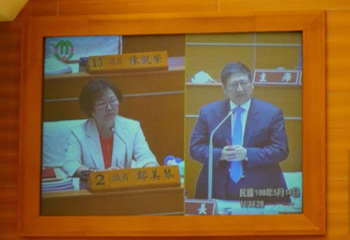 鄭美琴議員關心竹北交通塞車及學子就學問題