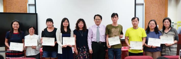 竹縣清華STEAM學校成果發表 第一波認證教師頒證