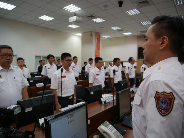 消防局晉升授階暨退休榮退典禮 楊縣長親自到場提振士氣 共16張圖片