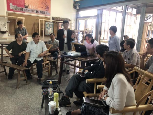 新埔鎮老頑童遇上中華大學小頑童 一起共創大學社會責任實踐 共9張圖片