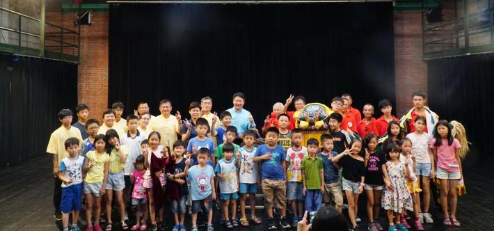 文化局舉辦北管八音、客家獅、客家戲曲藝術夏令營 學子踴躍參與 共8張圖片