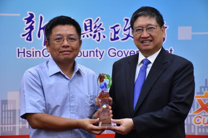 新竹縣連續八年榮獲因應氣候變遷行動執行績效特優縣市