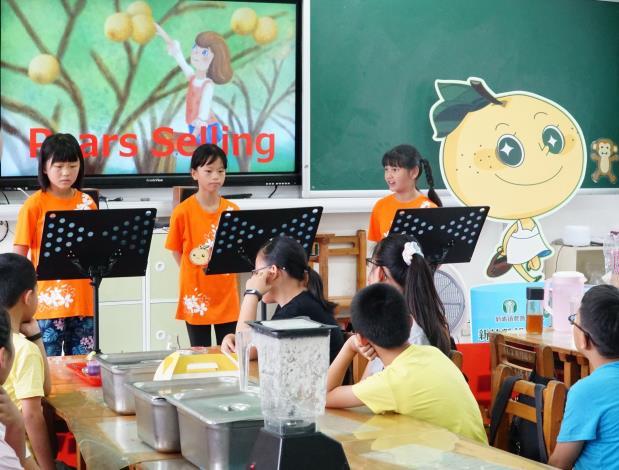 縣長楊文科宣布12年國教向下延伸 竹縣小一提早開始英語教育 共6張圖片