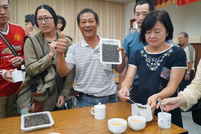 竹縣東方美人茶優良茶比賽成績揭曉 楊瑞隆第四度榮獲「茶王」