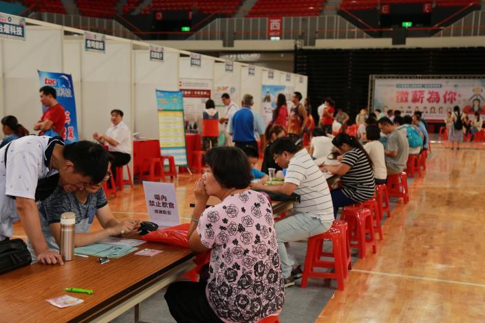 薪想事成-108年身心障礙者暨一般就業博覽會  8月10日新竹縣體育館登場 共3張圖片