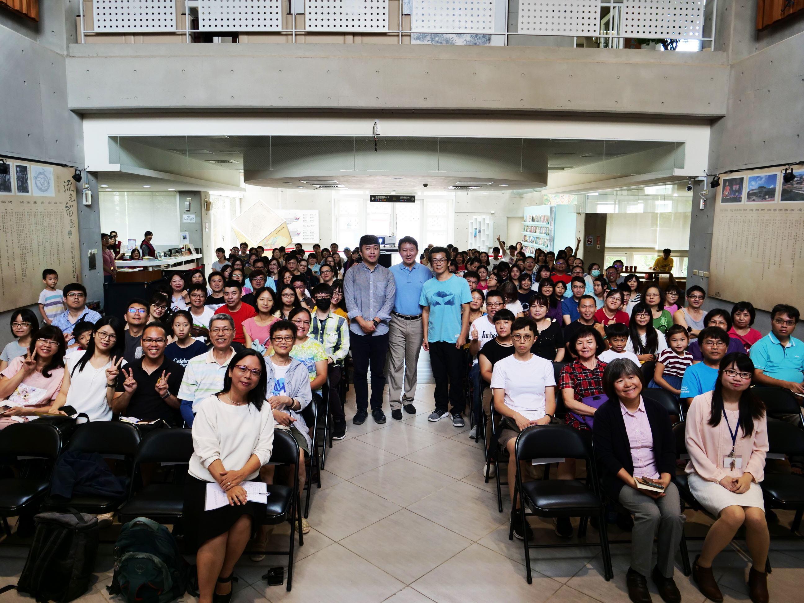 大師講座談傳統的未來 導演魏德聖與臺灣吧營運長蕭宇辰暢談